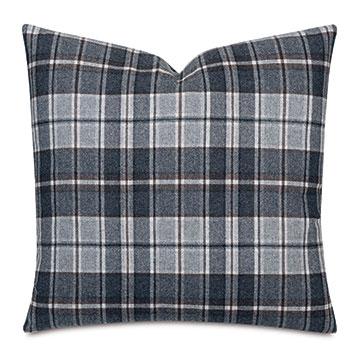 Elgin Slate Decorative Pillow
