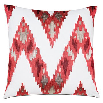 Nardo Crimson Decorative Pillow