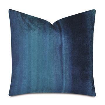 Ombre Peacock Decorative Pillow