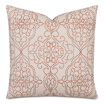 Harlow Damask Decorative Pillow