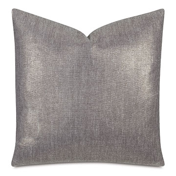 Leonis Metallic Decorative Pillow In Gold