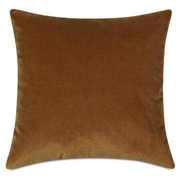 Uma Velvet Decorative Pillow In Gold