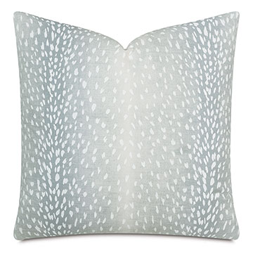 Wiley Ombre Decorative Pillow In Aqua