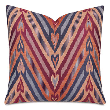 Comparsa Woven Heart Decorative Pillow