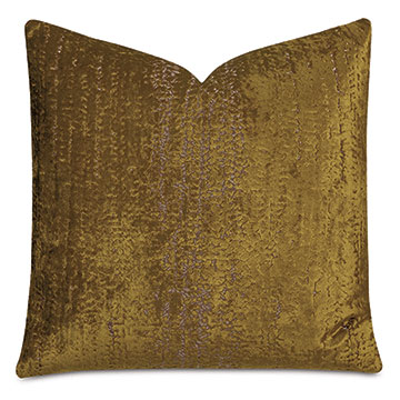 Focaccia Decorative Pillow In Citron