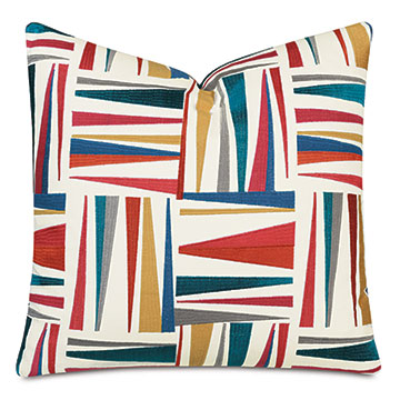 Medara Decorative Pillow In Rainbow