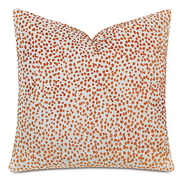 Tapir Decorative Pillow In Orange