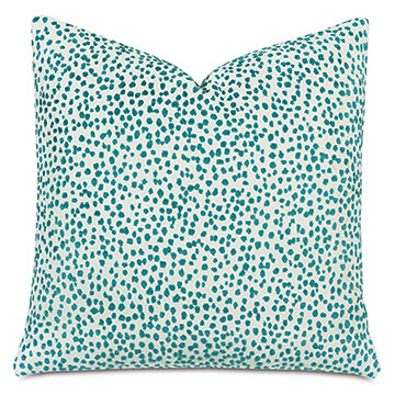 Tapir Decorative Pillow In Teal