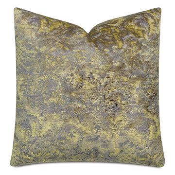Byzantine Velvet Decorative Pillow In Amethyst