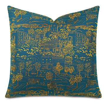 Chappey Toile Decorative Pillow