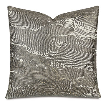 Kellner Metallic Decorative Pillow