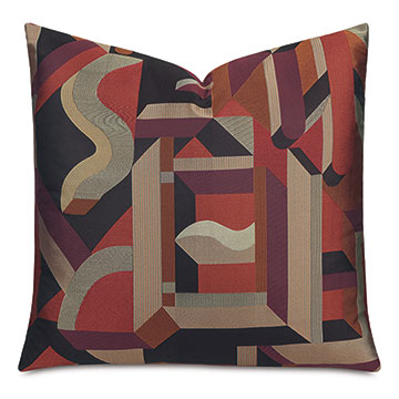 Baughman Graphic Decorative Pillow