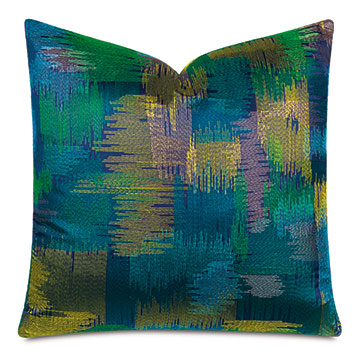 Breslin Embroidered Decorative Pillow