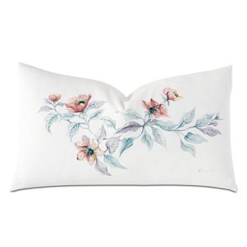 Adare Manor Handpainted Decorative Pillow