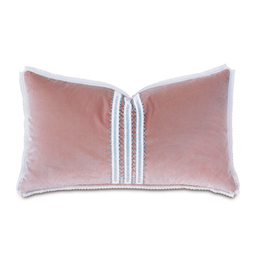 Adare Manor Lace-Trim Decorative Pillow