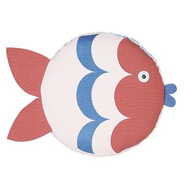 Pez Fish Decorative Pillow (Left)