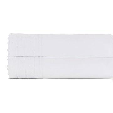 Harper White Flat Sheet