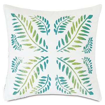 Clementine Reversible Decorative Pillow