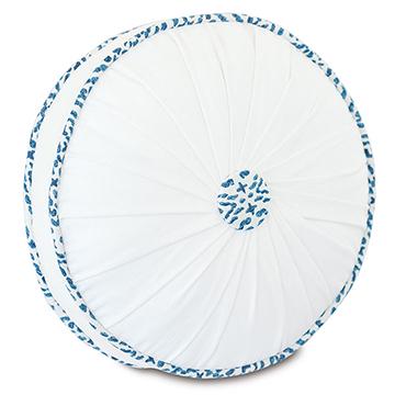 Clementine Round Decorative Pillow