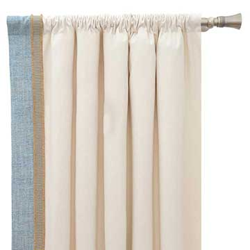 Adler Natural Curtain Panel Right