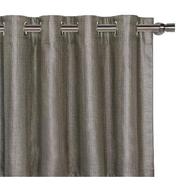 Meridian Slate Curtain Panel
