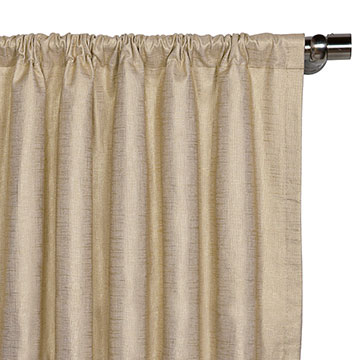 Reflection Gold Curtain Panel