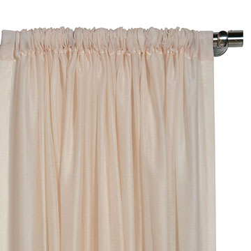 Palapa Shell Curtain Panel