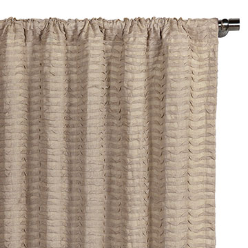 Yearling Flax Curtain Panel