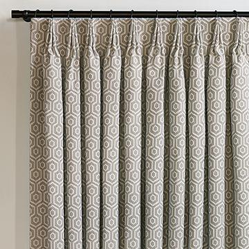 Gavin Smoke Curtain Panel