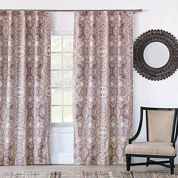 Zendaya Amethyst Curtain Panel