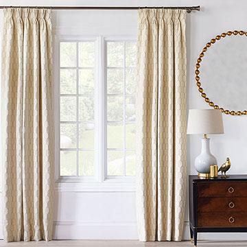 Jolene Scalloped Curtain Panel