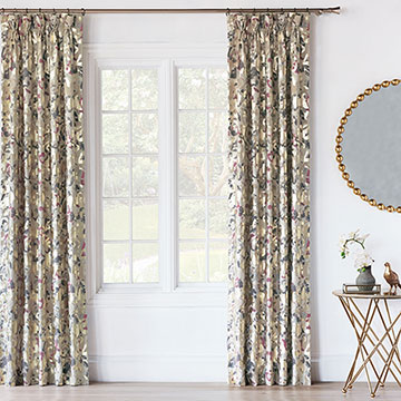 Valentina Metallic Curtain Panel