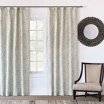 Tabby Sapphire Curtain Panel