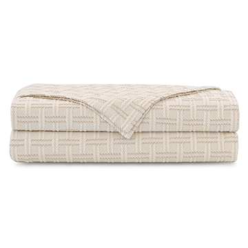 Monterosa Basketweave Coverlet