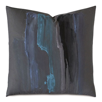 Lyra Handpainted Decorative Pillow
