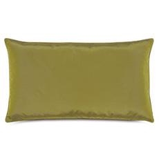 Freda Taffeta Decorative Pillow in Chartreuse