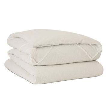 Filly White Duvet Cover and Comforter