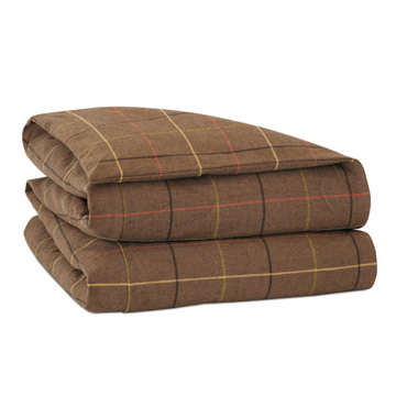 Donoghue Brown Duvet Cover and Comforter