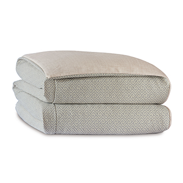Aldrich Woven Duvet Cover and Comforter