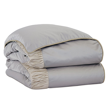 Jolene Ruched Duvet Cover and Comforter