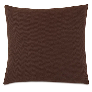 Bozeman Brown Euro Sham