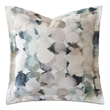 Izaro Watercolor Print Euro Sham