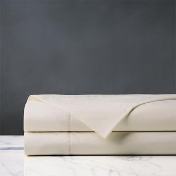 Gianna Classic Ivory Flat Sheet