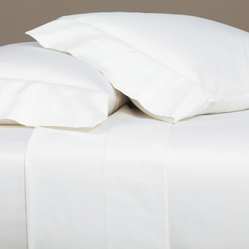 Fresco Luxe White Flat Sheet
