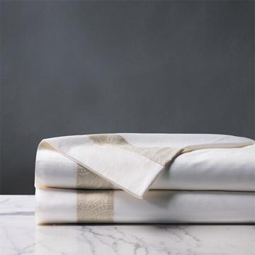 Cornice White/Pearl Flat Sheet