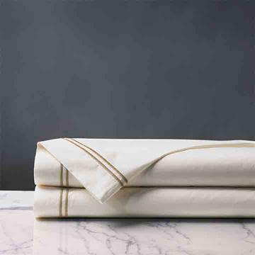 Enzo Ivory/Antique Flat Sheet