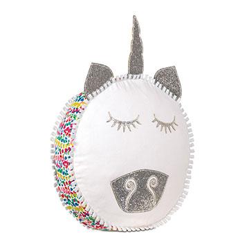 Gigi Unicorn Decorative Pillow