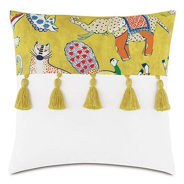 Hullabaloo Tassels Decorative Pillow