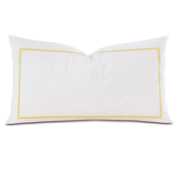 Gala Lemon King Sham