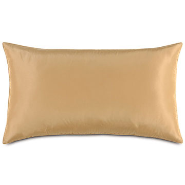 Freda Taffeta King Sham in Gold